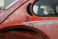 Rust spots on the 73 beetle