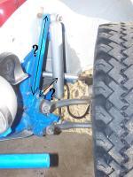 Dwarf Buggy front shock mount geometry