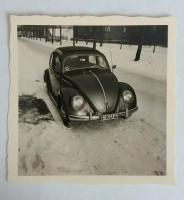 Ragtop in the snow