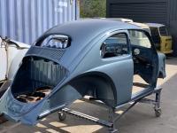 Oval bodywork & Stratos Silver paint