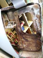 Passenger door bottom repair