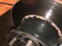 Brake disc paint