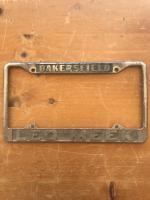 Rare Leo Meeks dealership frame from Bakersfield California