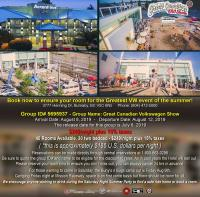 GCVWS 2018 host hotel info