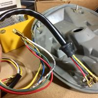 Late model tail light wiring with tube replacement