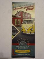 2019 Museum Brochure with my bus