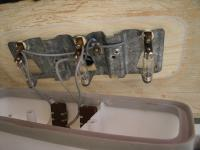 early westfalia interior light fixture Double switches