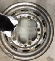 cat and Porsche wheel