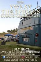 VWs At The Springs 2019