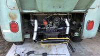 ISP West EMPI GT Single tip muffler on 1964 VW Bus does not fit