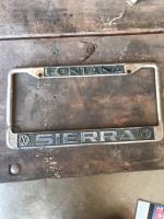 Sierra Fontana California dealership frame
