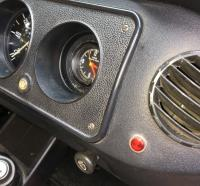 Steering and roof light