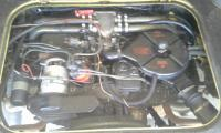 73 t-3 fuel injected engine photo's