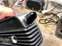 Adding vents to C-channel valve covers