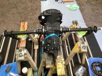 Rear swing axle