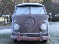 1961 dove blue patina kombi