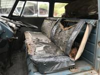 1961 dove blue kombi Matt Miller seats