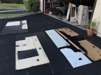 panels and luggage rack
