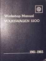 Robert Bentley's full edition of VW Workshop Manual