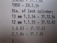 "VW dealership key code binder and info on ""Z"" key code"