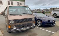 Vanagon and Bugatti Chiron