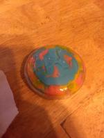 Custom resin horn buttons