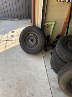 Van wheels and mirros