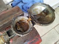 Fouled Westfalia LP propane regulator