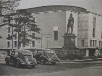 Vintage VW photo from Düsseldorf, Germany