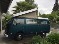 Mikey's '73 Westy new tent after install.