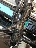 Vanagon Syncro EJ22 Engine Bay Wiring Harness Mess