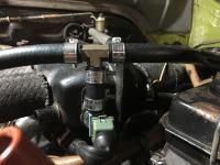 Testing an alternative Bosch CSV Valve for L-Jet