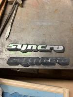 alloy syncro emblem