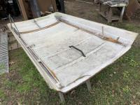 Camper top frame restoration
