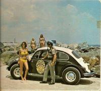 Florida Police car on the beach