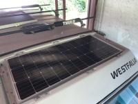 100watt Luggage solar panel