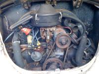 1968 Type 1 Engine Bay - survivor