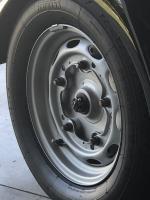 "Porsche 15"" x 4.5"" wheel w/ Carrera spacers"