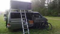 Eurovan Slide-Out Cabinet