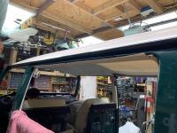 69 Baywindow Sunroof Headliner Installation