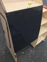 ABD Plastic closet panel