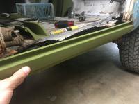 68 Doka Cargo Door Replacement Rocker Help
