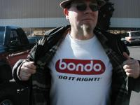 Angry Dan and the awesome tee shirt!