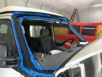 eurovan windshield frame repair