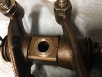 Crack in Rocker shaft mounting block