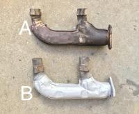 Type 4 exhaust headers