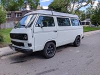 Lowered Vanagon with 215/75 R15 BFGs