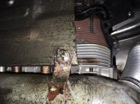 engine tin - rear air deflector missing