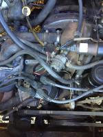 fuel injection harness fried