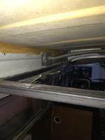 Pop top frame welded and lift indtalled